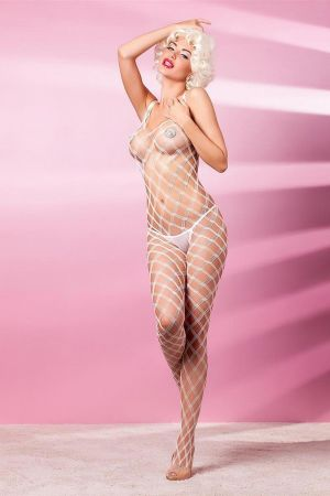 INTENSO BODYSTOCKING WHITE