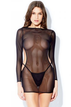 CUT OUT BACK CHEMISE