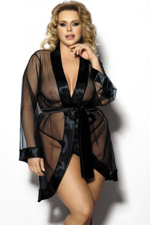 MAERIN ROBE BLACK